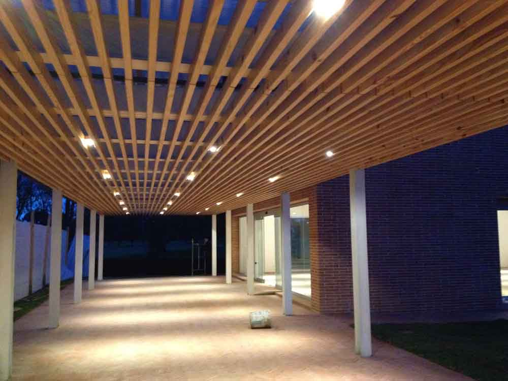 Construccion del nuevo Salon Arrayalandia y remodelacion de cocina y zonas exteriores